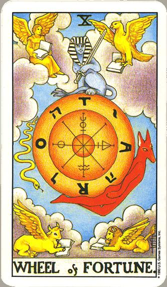 Tarot karta Točak sreće