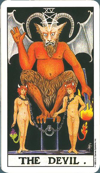 Tarot karta Đavo