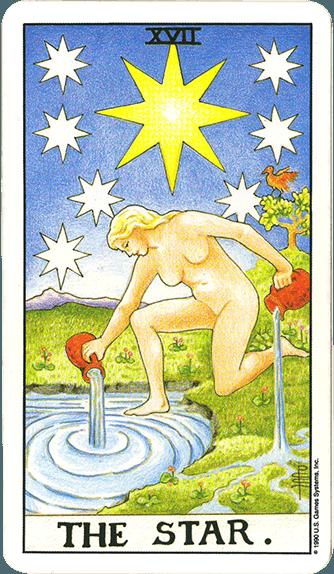 Tarot karta Zvezda