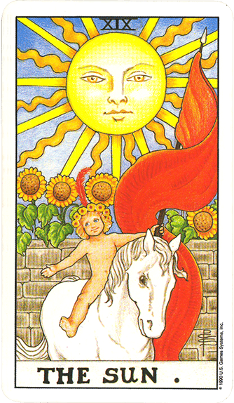 Tarot karta Sunce