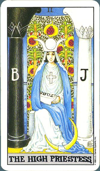 Tarot karta Papisa