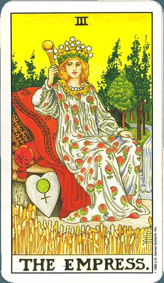 Tarot karta Carica