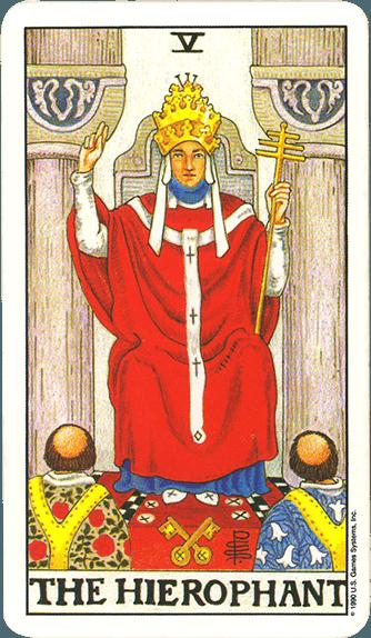 Tarot karta Papa