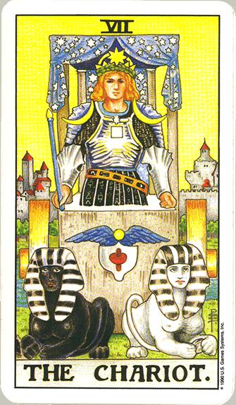 Tarot karta Kočija